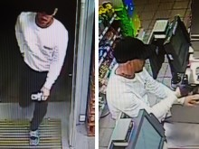 Police release CCTV images of Eastbourne robbery suspect
