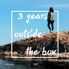 3 years outside the box - Rolling Images in Business Startups 2015-2018