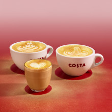 COSTA COFFEE GRANTS CHRISTMAS WISHES WITH FESTIVE DRINKS MENU