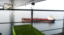 Ships in the English Channel have the highest rate of sulphur violations in northern Europe