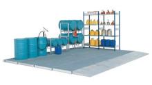 Säker invallning av kemikalier med golvelement från DENIOS