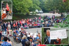Sparkassen-Auszubildende schließen erfolgreich das Spielplatzprojekt in Meerbusch ab