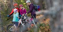 Nå ruller reiselivshjulene i gang i Trysil – åpner sykkelstiene i dag