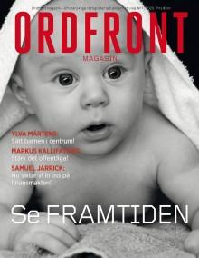 Årets första nummer av Ordfront magasin