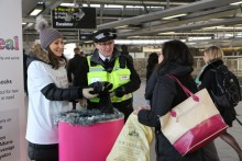 Govia Thameslink Railway's Great Sock Appeal collects over 4,000 socks