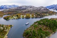 Elektrisk katamaran i Lysefjorden og Ryfylke