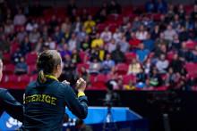 Succéstart för Bordtennis-VM i Halmstad