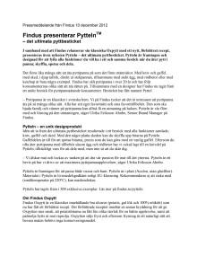 Findus presenterar Pytteln™ – det ultimata pyttbesticket