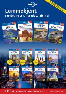 Nye lommeguider fra Lonely Planet