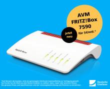 Neuer Premium Router von Deutsche Glasfaser: AVM FRITZ!Box 7590