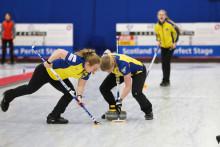 Curling: Stark inledning på Junior-VM med tre raka segrar för de svenska lagen