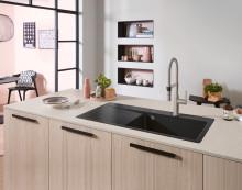 Küchenarmatur Steel Expert 2.0 von Villeroy & Boch - Professionelle Küchenausstattung für den Kochprofi zuhause