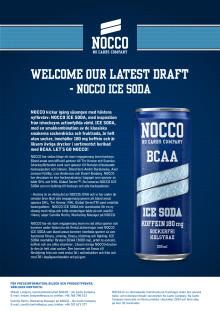 Pressmeddelande NOCCO ICE SODA