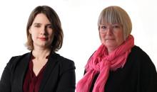 Anja Dahlstedt och Linda Lindström nya avdelningschefer på KB