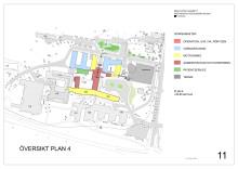 Fastighetsutvecklingsplan Skellefteå lasarett översikt plan 4