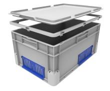 Euroclick® , ett nytt sortiment av eurobackar från Schoeller Allibert