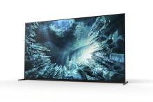 Sony kondigt beschikbaarheid BRAVIA ZH8 8K HDR LED Tv's aan