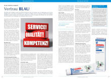 50 Jahre GEHWOL FUSSKRAFT: Vertrau BLAU