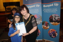 North Glasgow Primary School Pupils Buoyed Up