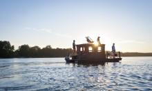Einmal Huckleberry Finn sein:  Abenteuerurlaub auf dem Floß