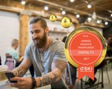 Telia toppar även i år med Sveriges nöjdaste tv-kunder enligt Svenskt Kvalitetsindex 2017