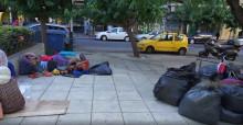 Grekland: sårbara flyktingar lämnade att bo på gatan