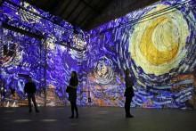 "Kunstkraftwerk Leipzig zeigt ""Van Gogh experience"" als multimediale Kunstinstallation"