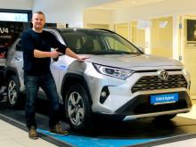 Folke-SUVen RAV4 er klar for lansering i Namsos