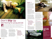 Evorich Flooring Group Featured on Home Fix's Magazine