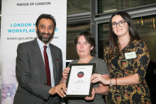 London Sport wins London Healthy Workplace Award