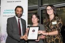 London Sport wins London Healthy Workplace Award