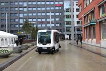 Pressinbjudan: Självkörande buss kommer till Helsingborg
