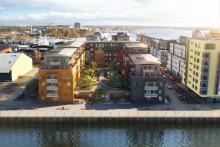Säljstart för Brf Slätpricken – 90 lägenheter på attraktiva Lillåudden