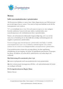 Motion. Inför cancersjuksköterskor i primärvården.pdf