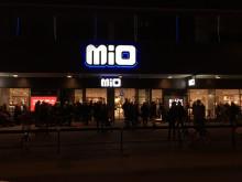 Besöksrekord och säljsuccé vid öppningen av Mio nummer 71
