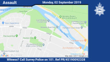 Witness appeal following assault in West Molesey