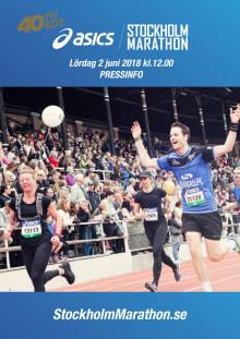 Pressinfo ASICS Stockholm Marathon 2018