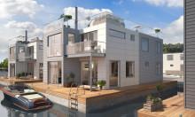 Hausboote: Stilvoll und nachhaltig mit haltbarem Kebony Holz