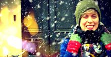 Hövding celebrates the winter cyclists