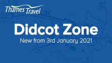Didcot Zone: coming from 3rd January 2021