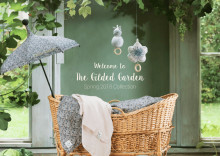 "Welcome to ""the Gilded Garden"" Elodie Details Spring 2018 Collection"