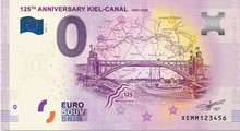 Press release: New Kiel zero-euro-note for the 125th anniversary of the Kiel Canal