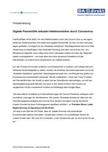 Digitale Pannenhilfe reduziert Infektionsrisiken durch Coronavirus