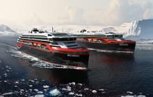 Hurtigruten setter nye hybridskip inn på norskekysten