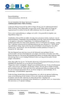 Interpellationssvar: Ambulanssjukvården i Södra Älvsborg