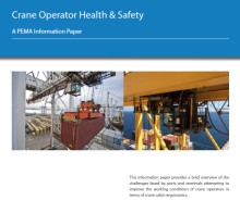 PEMA publishes health and safety recommendations for RTG and container cranes