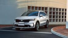 De første offisielle bilder av nye Kia Sorento.