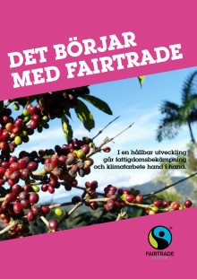 "Fairtrade-rapporten 2015: ""Det börjar med Fairtrade"