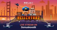 Bonuskoodit.com mukana Relax Gaming -pelistudion uuden pelin julkaisussa
