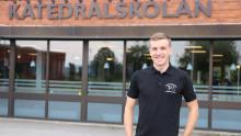 Cykelproffs blir lärare på Katedralskolan